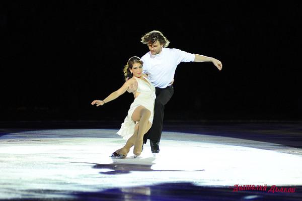 Петр Чернышев и Наоми Ланг