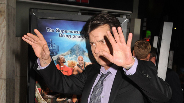 "11 April 2013 - Hollywood, California - Charlie Sheen. ""Scary Movie 5"" Los Angeles Premiere held at the Cinerama Dome. Photo Credit: Byron Purvis/AdMedia"
