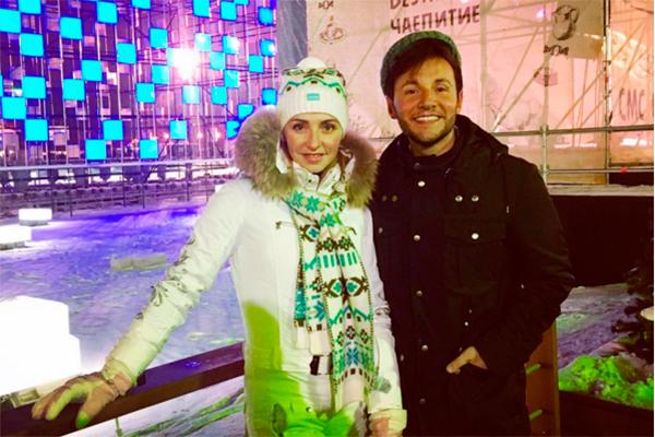 Замужняя Татьяна Навка провела вечер с известным телеведущим