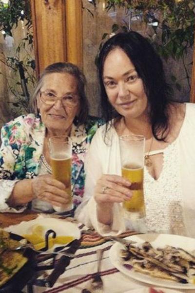 Лариса Гузеева с матерью