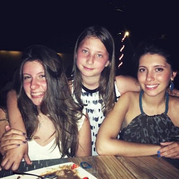 Слева направо: Софико, Арина и Инга Меладзе. Фото: www.wday.ru