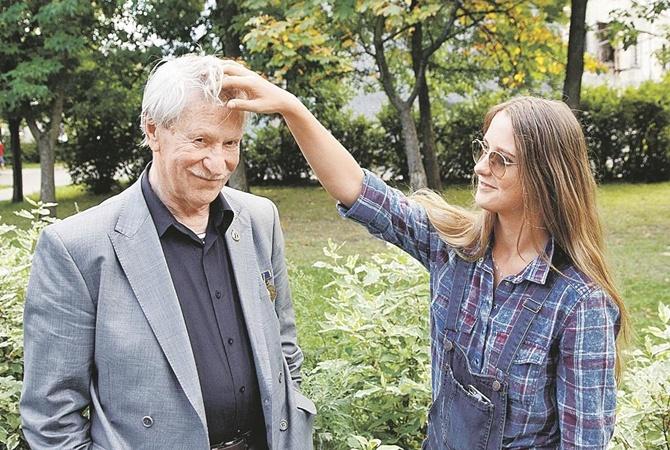 Иван Краско с женой. Фото: freshnovosti.com