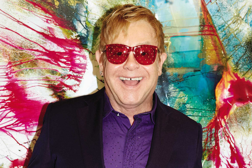 "This CD cover image released by Island Records shows ""Wonderful Crazy Night,"" by Elton John. (Island via AP)"