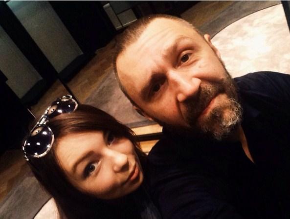 Серафима и Сергей Шнуровы. Фото: www.livestory.com.ua