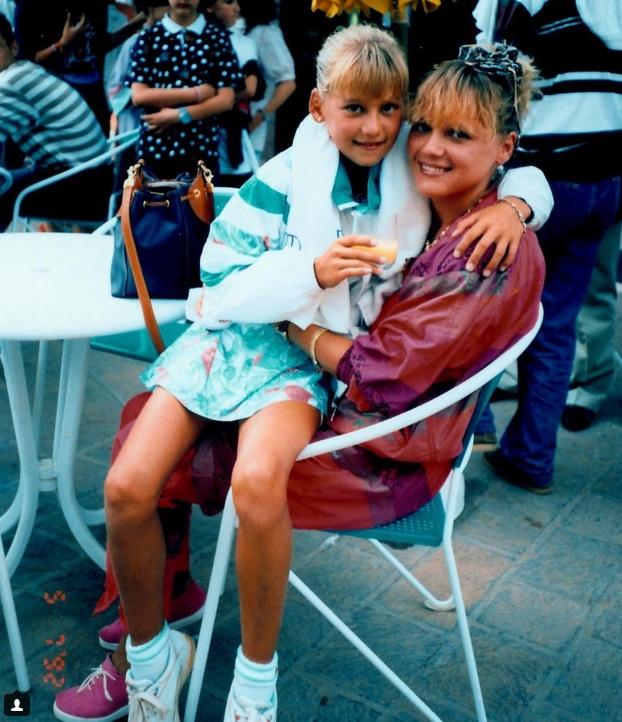 Анна Курникова с матерью. Фото: instagram.com