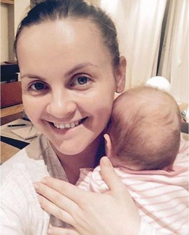Юлия Проскурякова с Вероникой. Фото: instagram.com