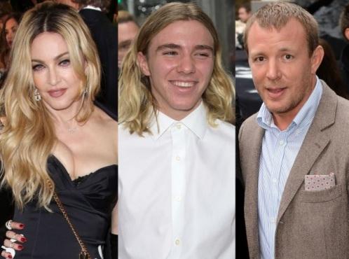 Мадонна, сын Рокко и Гай Ричи. Фото: style.news.am