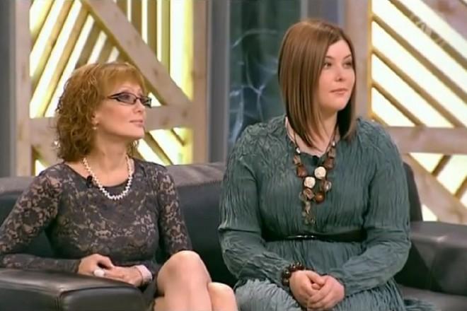 Ольга Зарубина и Кира Евдокимова. Фото: wordyou.ru
