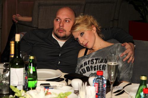 Яна Чурикова и Денис Лазарев. Фото: www.eg.ru