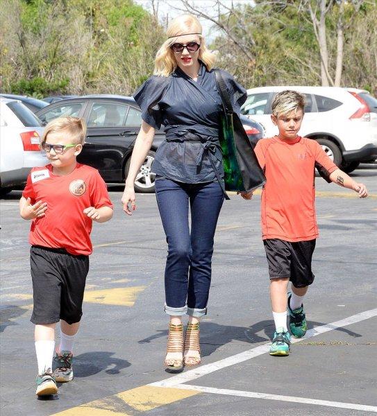 Гвен Стефани с сыновьями. Фото: www.vladtime.ru