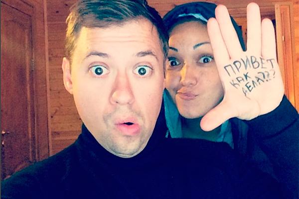Андрей Гайдулян со спутницей Дианой. Фото: instagram.com