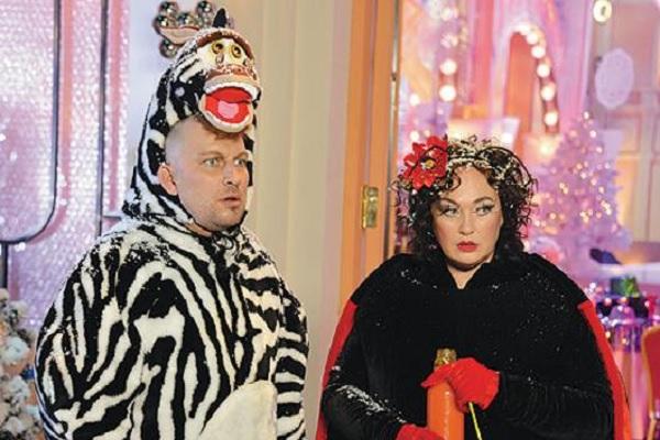 Дмитрий Нагиев и Лариса Гузеева. Фото: кадр youtube.com