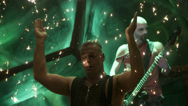 "Группа ""Rammstein"". Фото: ria.ru"