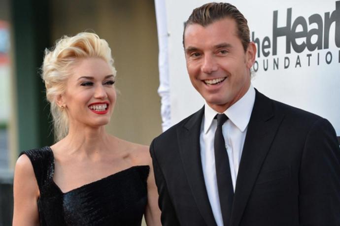 Гвен Стефани и Гэвин Россдэйл. Фото: lady.online.ua
