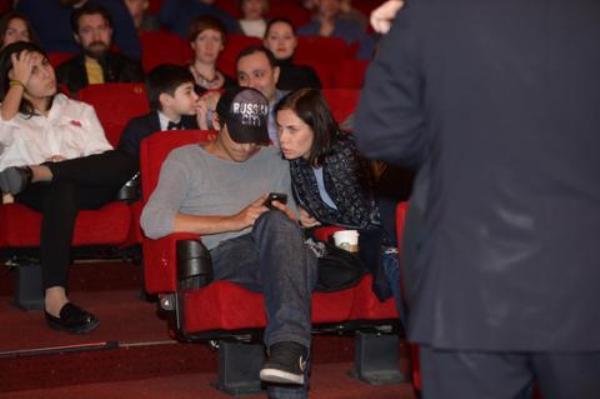 Артем Ткаченко и Екатерина Стеблина. Фото: abakan-gazeta.ru