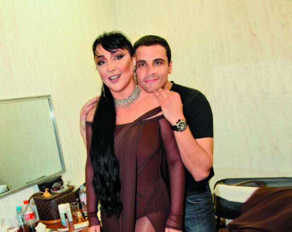 Лолита Милявская с нынешним мужем. Фото: lichnosti.net