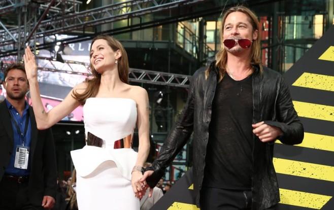Брэд Питт и Анджелина Джоли. Фото: www.reporter.com.ua