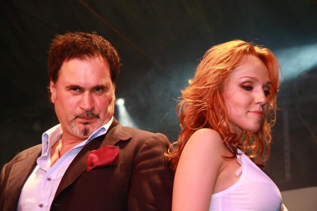 Валерий Меладзе и Альбина Джанабаева. Фото: rrnews.ru