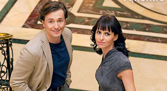 Сергей Безруков и Анна Матисон. Фото: celz.ru