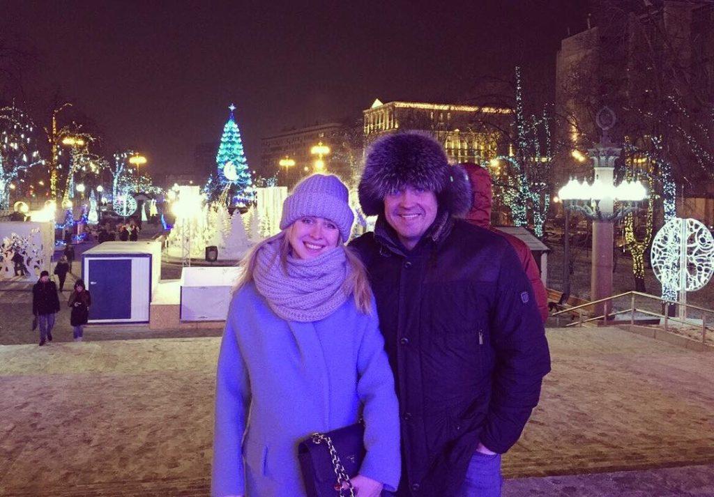 Денис Матросов и Ольга Головина, 2 января 2016 г. Фото: Instagram