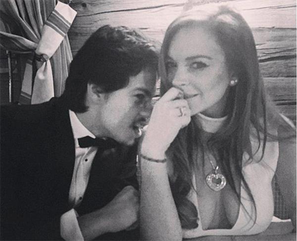Линдси Лохан и Егор Тарабасов. Фото: instagram.com