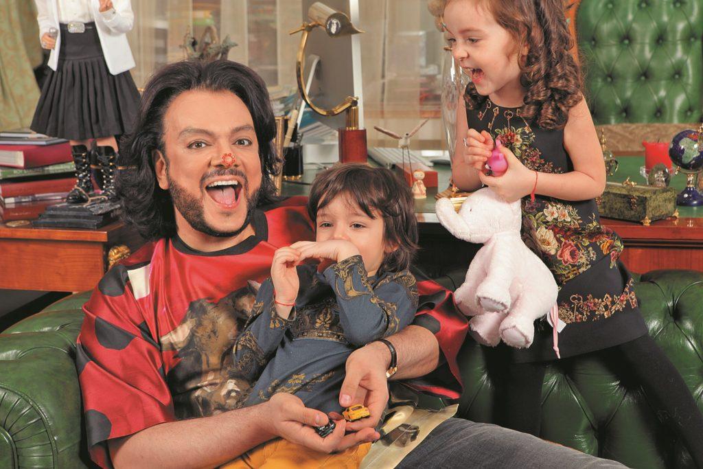 Филипп Киркоров с детьми Фото: «СБ»