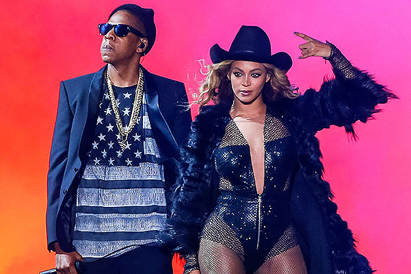 Houston, TX - Beyonce and Jay-Z perform on the On The Run Tour at the Minute Maid Park.  AKM-GSI          July 18, 2014  To License These Photos, Please Contact :  Steve Ginsburg (310) 505-8447 (323) 423-9397 steve@akmgsi.com sales@akmgsi.com  or  Maria Buda (917) 242-1505 mbuda@akmgsi.com ginsburgspalyinc@gmail.comAll Over Press