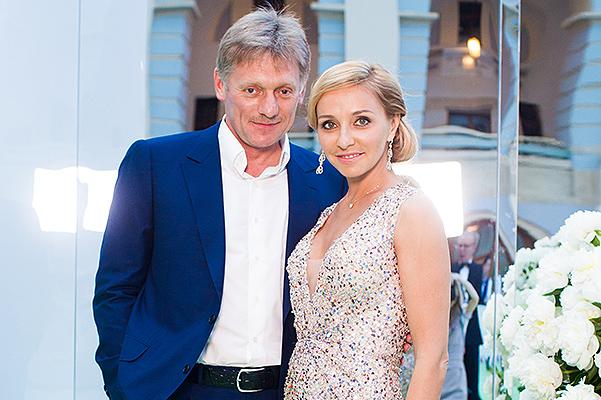 Татьяна Навка и Дмитрий Песков. Фото: spletnik.ru