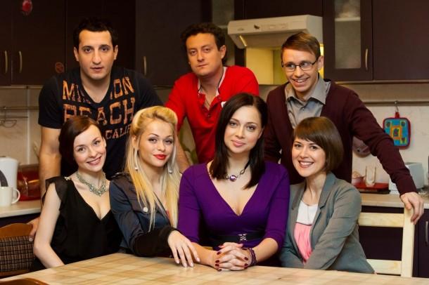 "Актеры ""Универа"", Фото: www.corpomir.ru"