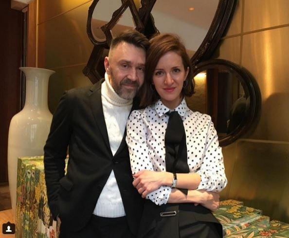 Сергей Шнуров с женой Матильдой. Фото: www.segodnya.ua