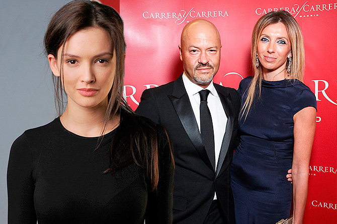 Паулина Андреева и Федор Бондарчук с женой. Фото: .dni.ru