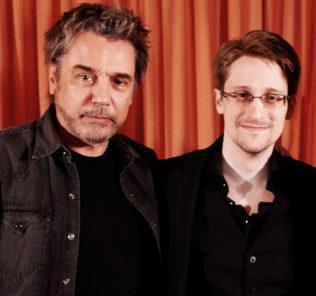 Жан-Мишель Жарр и Сноуден записали в Москве песню