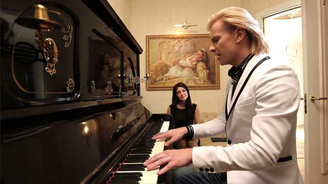 Глеб Матвейчук и Анастасия Макеева. Фото: 1tv.ru