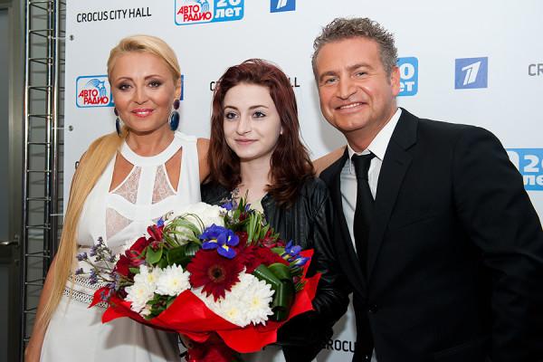 Леонид Агутин, Анжелика Варум и их дочь Елизавета. Фото: avtoradio.ru