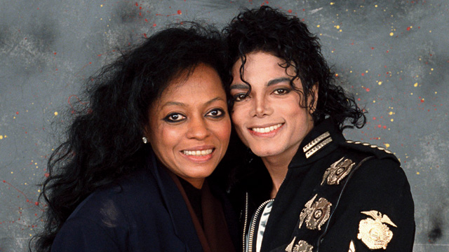 Дайана Росс и Майкл Джексон. Фото: www.mjworld.net