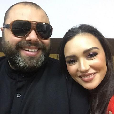 Максим Фадеев и Ольга Серябкина. Фото: woman.ru