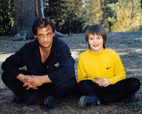 Александр Домогаров с сыном. Фото: woman.ru