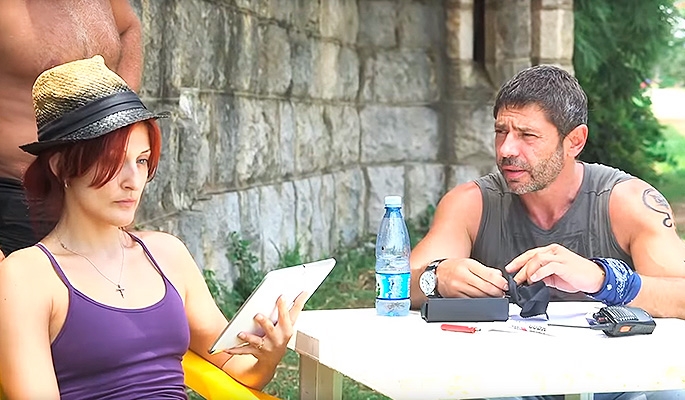 Валерий Николаев с женой. Фото: www.dni.ru