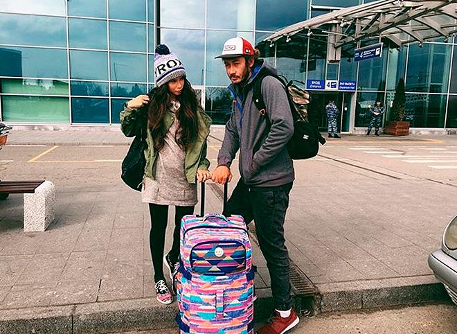 Айза Долматова и Дмитрий Анохин. Фото: instagram.com