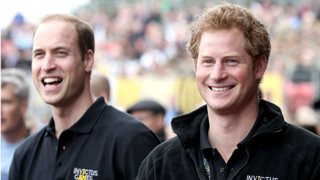 Принцы Уильям и Гарри снялись в «Звездных войнах»