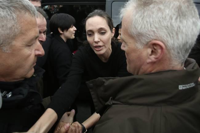 Анджелина Джоли. Фото: podrobnosti.ua