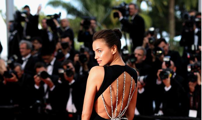 Российская модель Ирина Шейк покорила Канны