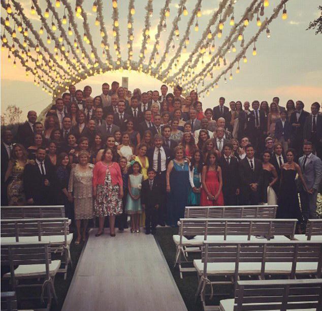 Гости на свадьбе Евы Лонгории Фото: Инстаграм