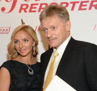 Татьяна Навка и Дмитрий Песков показали первое фото дочери