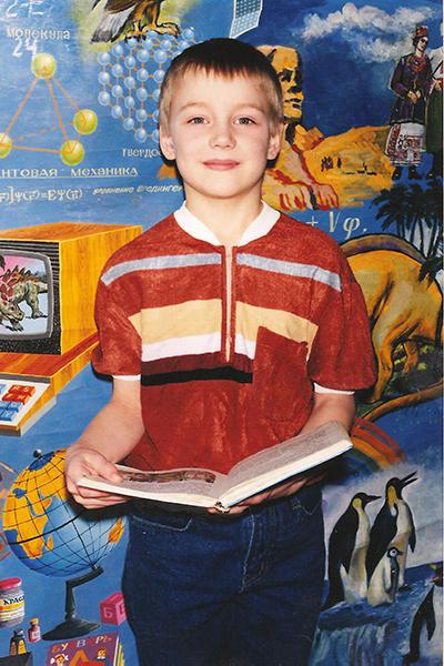 Алексей Воробьев в детстве Фото: Инстаграм