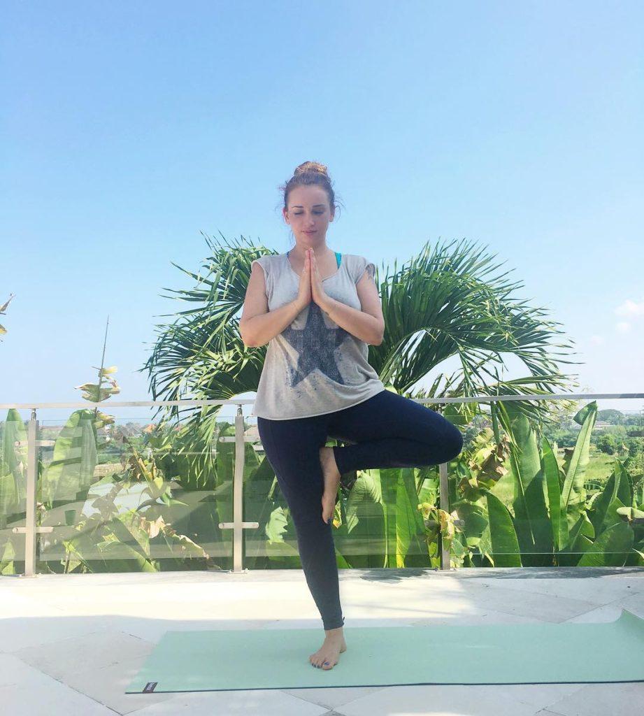 Анфиса Чехова увлеклась йогой на Бали Фото: Инстаграм