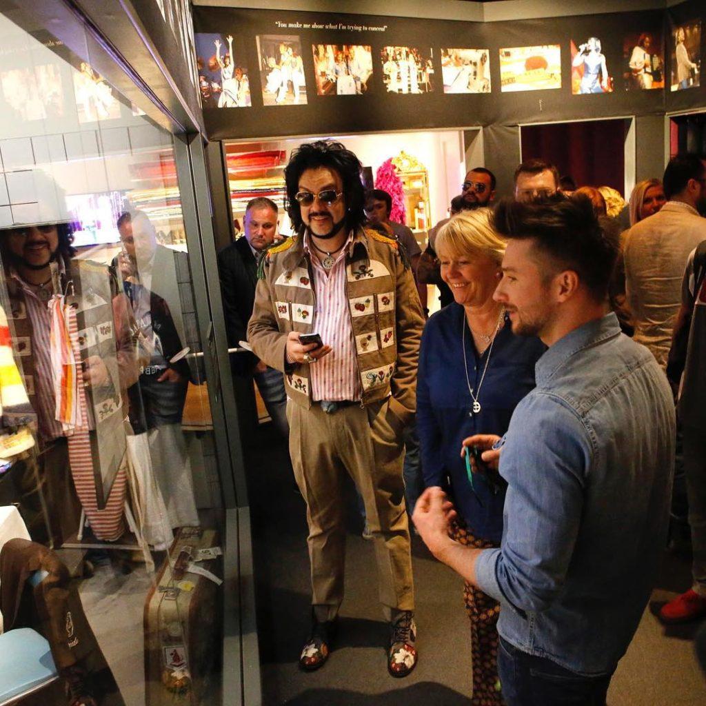 Сергей Лазарев и Фидипп Киркоров посетили музей группы ABBA Фото: Инстаграм