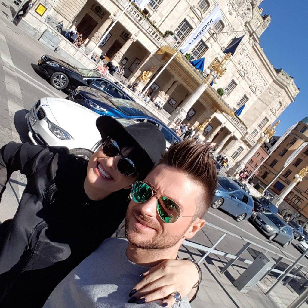 Сергей Лазарев встретился с Калиопи Фото: Инстаграм