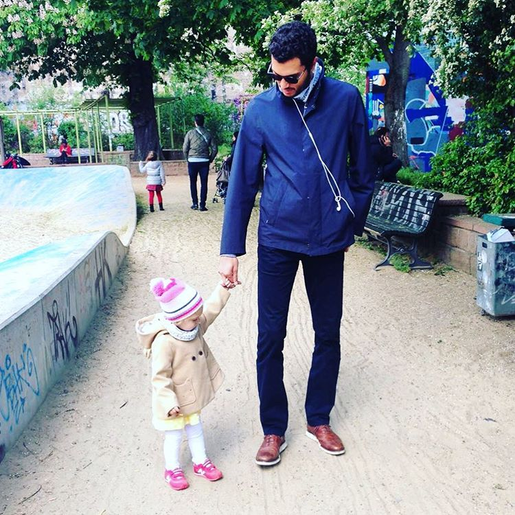 Альп Озджан и дочь актрисы Мерьем Узерли Фото: Инстаграм