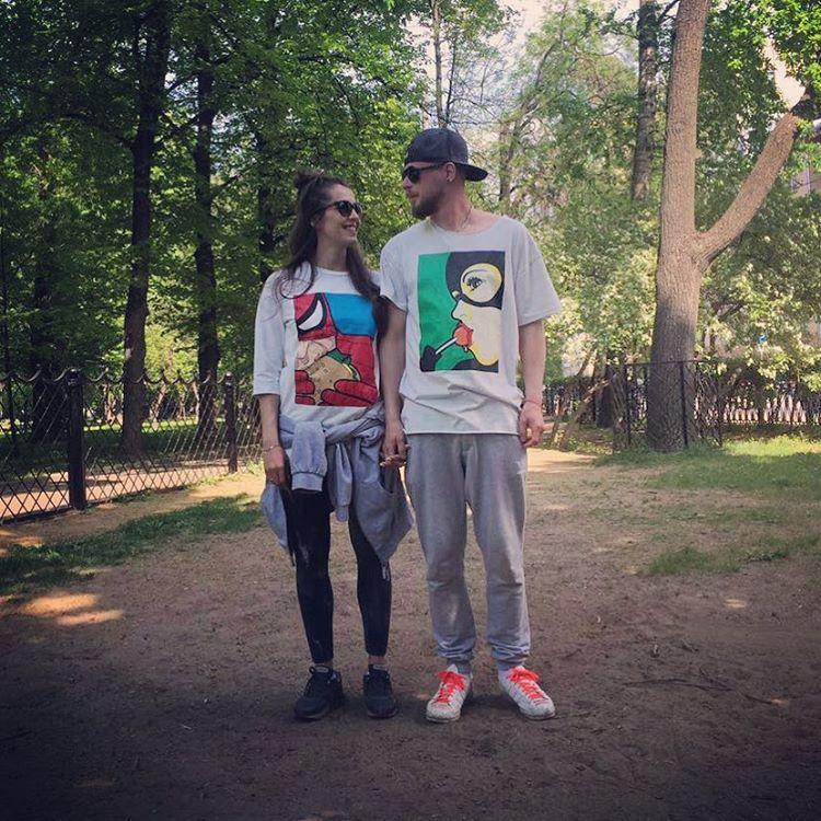 Анастасия Меськова с возлюбленным Александром Фото: Инстаграм